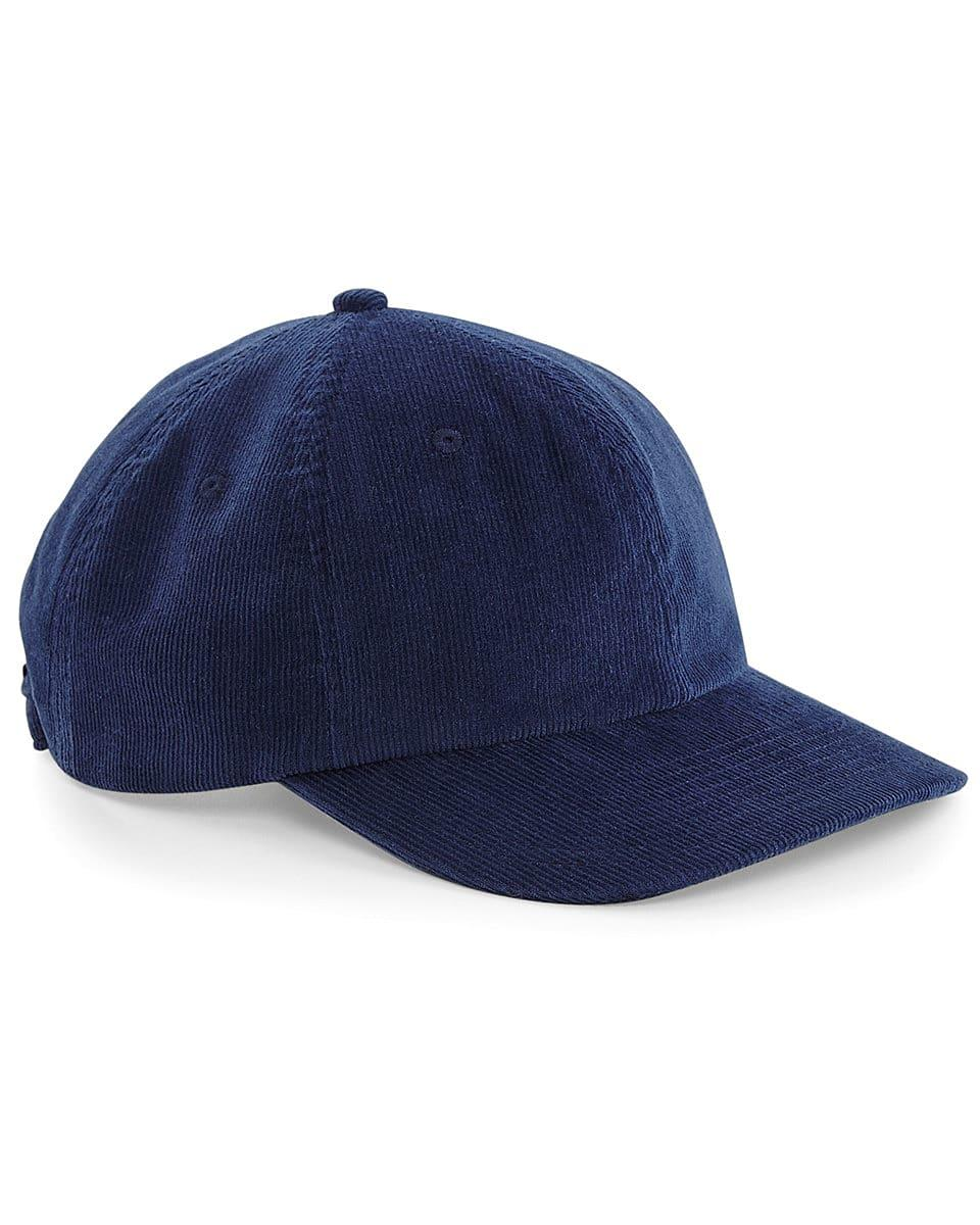 Beechfield Heritage Cord Cap in Oxford Navy (Product Code: B682)
