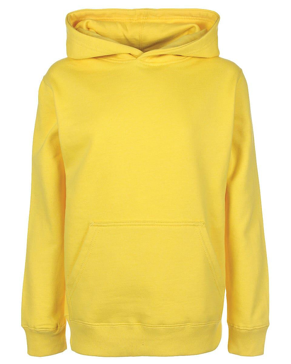 FDM Junior Hoodie in Empire Yellow (Product Code: FH004)