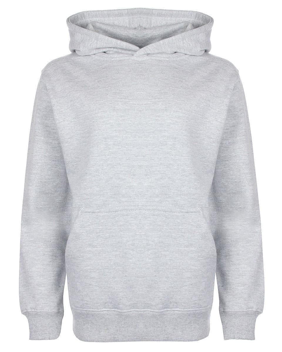 FDM Junior Hoodie in Heather Grey (Product Code: FH004)