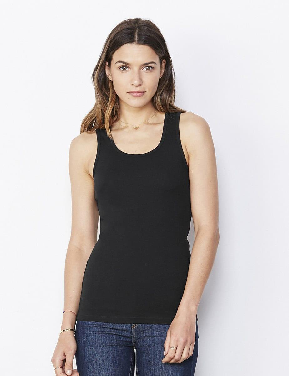 Bella Womens Tank Top in Chocolate (Product Code: BE1080)