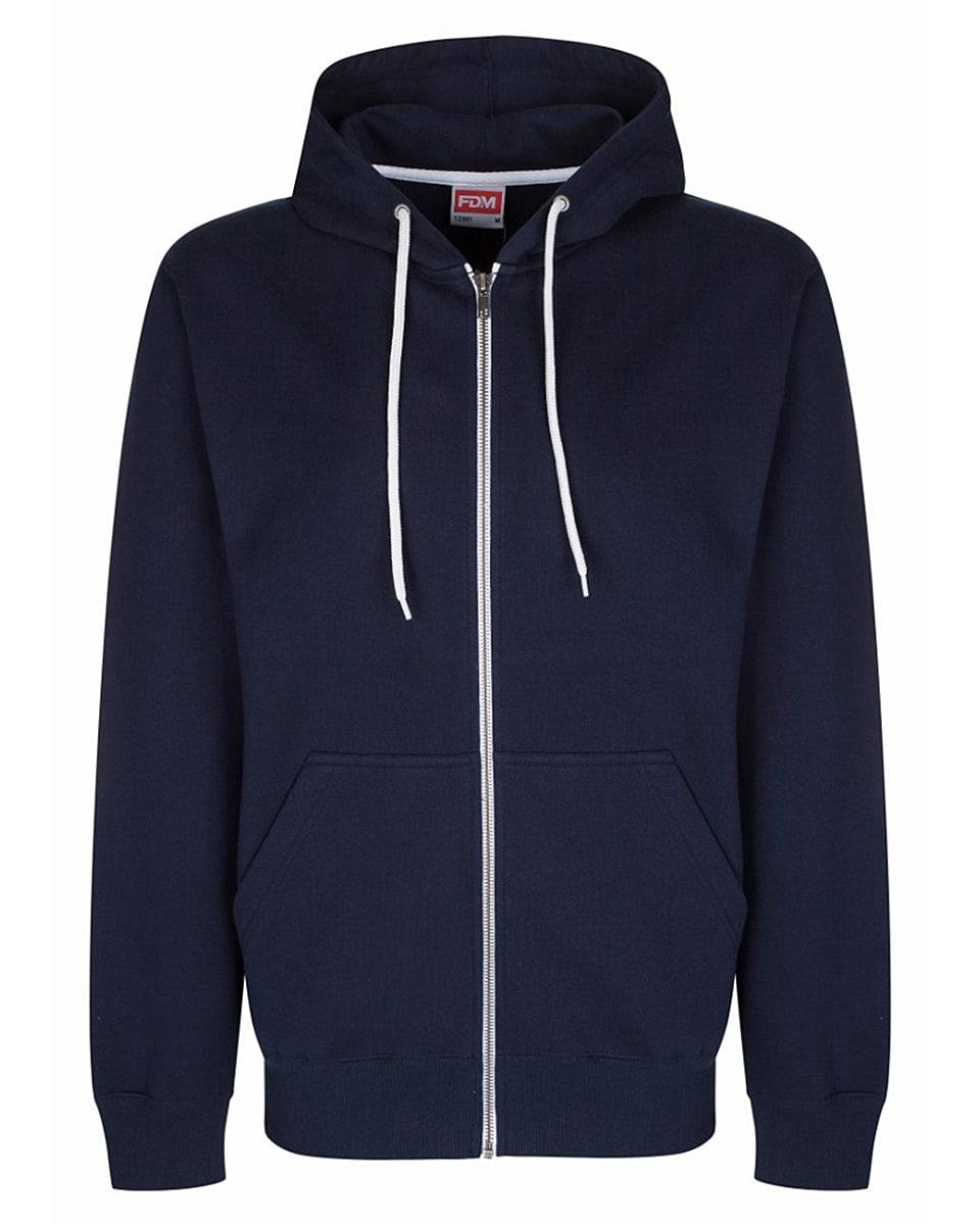 FDM Team Zip Hoodie in Navy Blue (Product Code: TZ001)