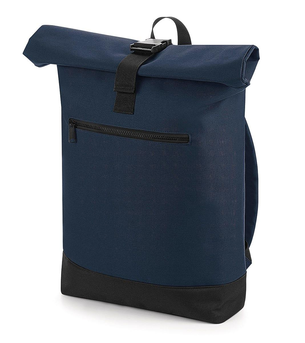 Bagbase Roll-Top Backpack in French Navy (Product Code: BG855)