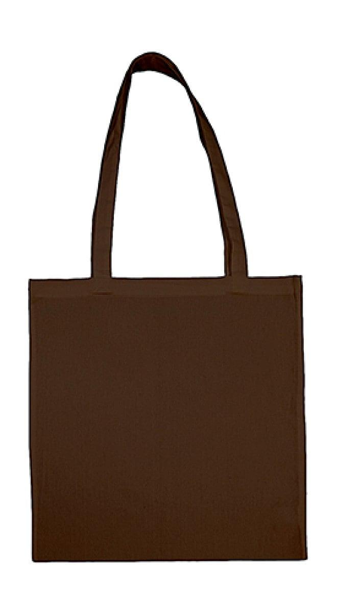 Jassz Bags Beech Cotton Long-Handle Bag in Brown (Product Code: 3842LH)
