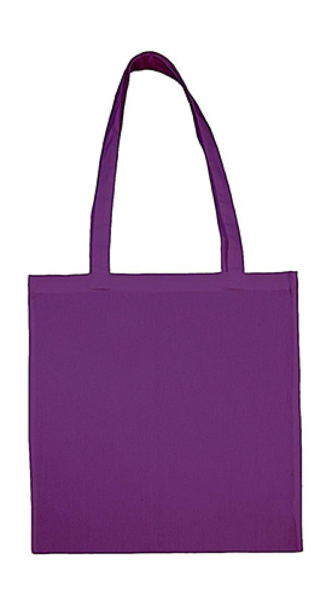 Jassz Bags Beech Cotton Long-Handle Bag in Lilac (Product Code: 3842LH)
