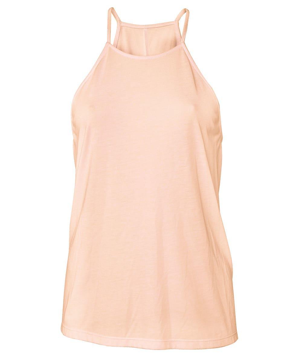 Bella Flowy High Neck Tank in Peach (Product Code: BE8809)