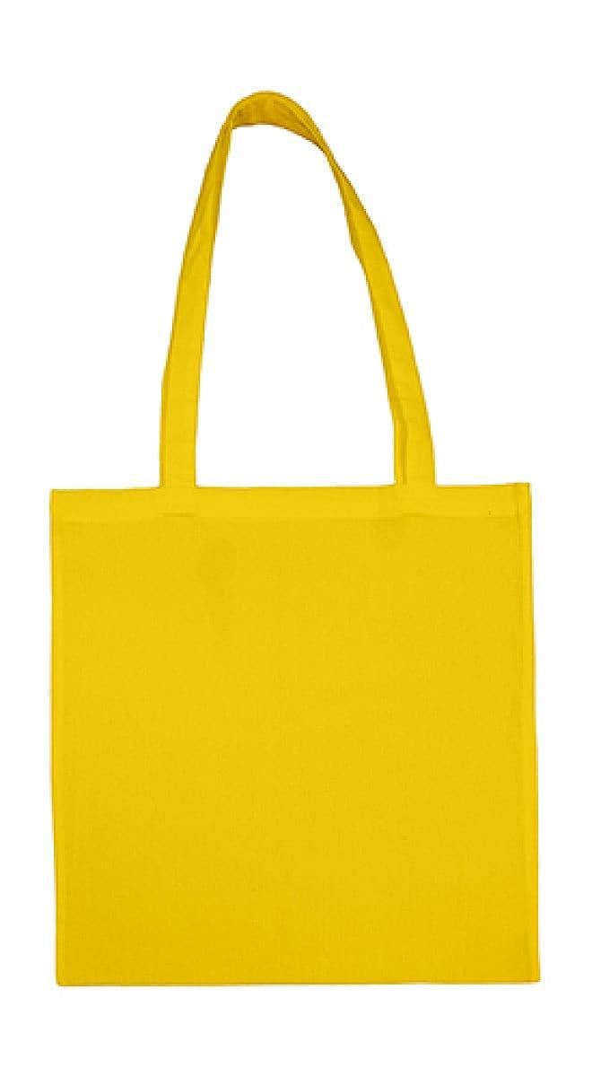 Jassz Bags Beech Cotton Long-Handle Bag in Yellow (Product Code: 3842LH)