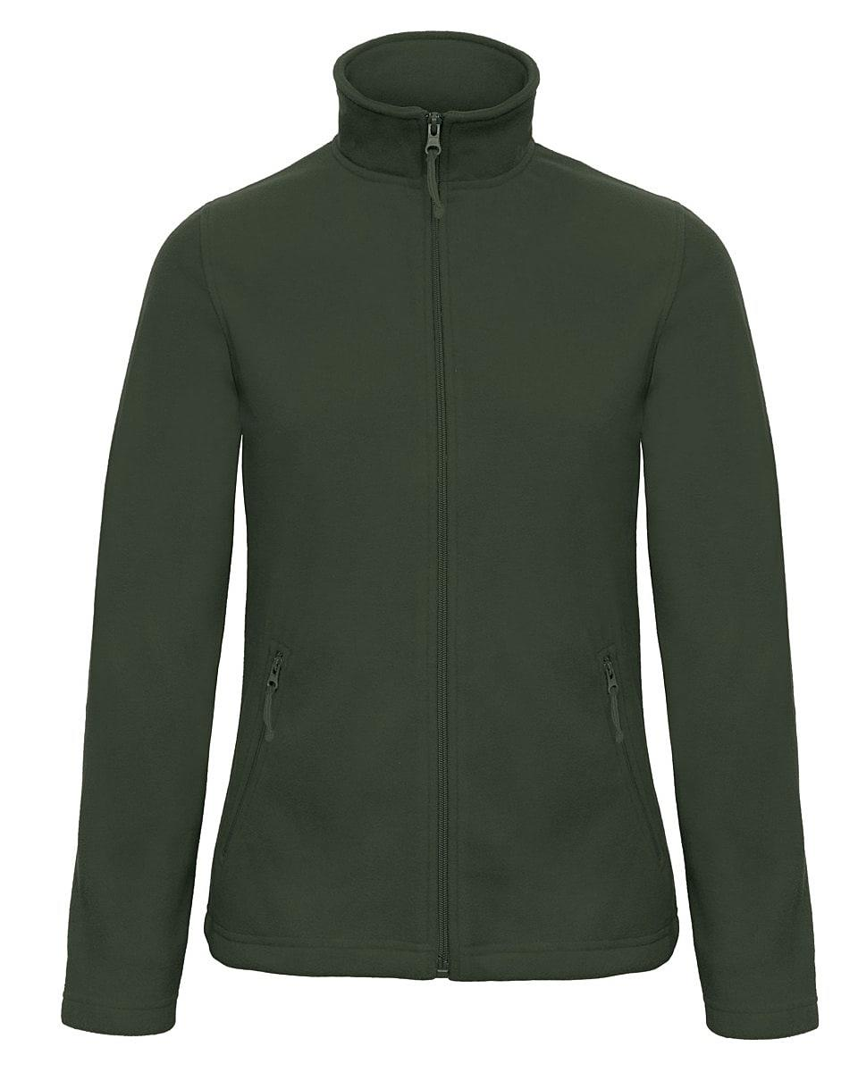B&C Womens ID.501 Fleece Jacket in Forest Green (Product Code: FWI51)
