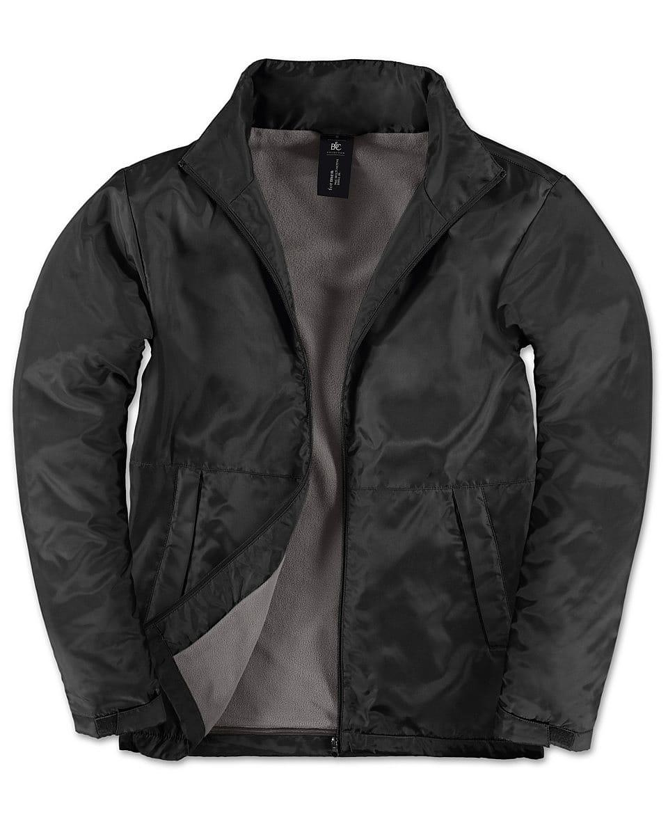 B&C Mens Multi - Active Jacket in Black (Product Code: JM825)