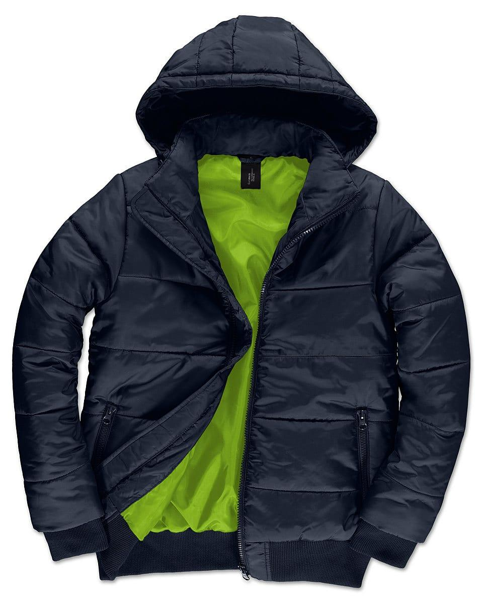 B&C Mens Superhood Jacket in Navy Blue (Product Code: JM940)