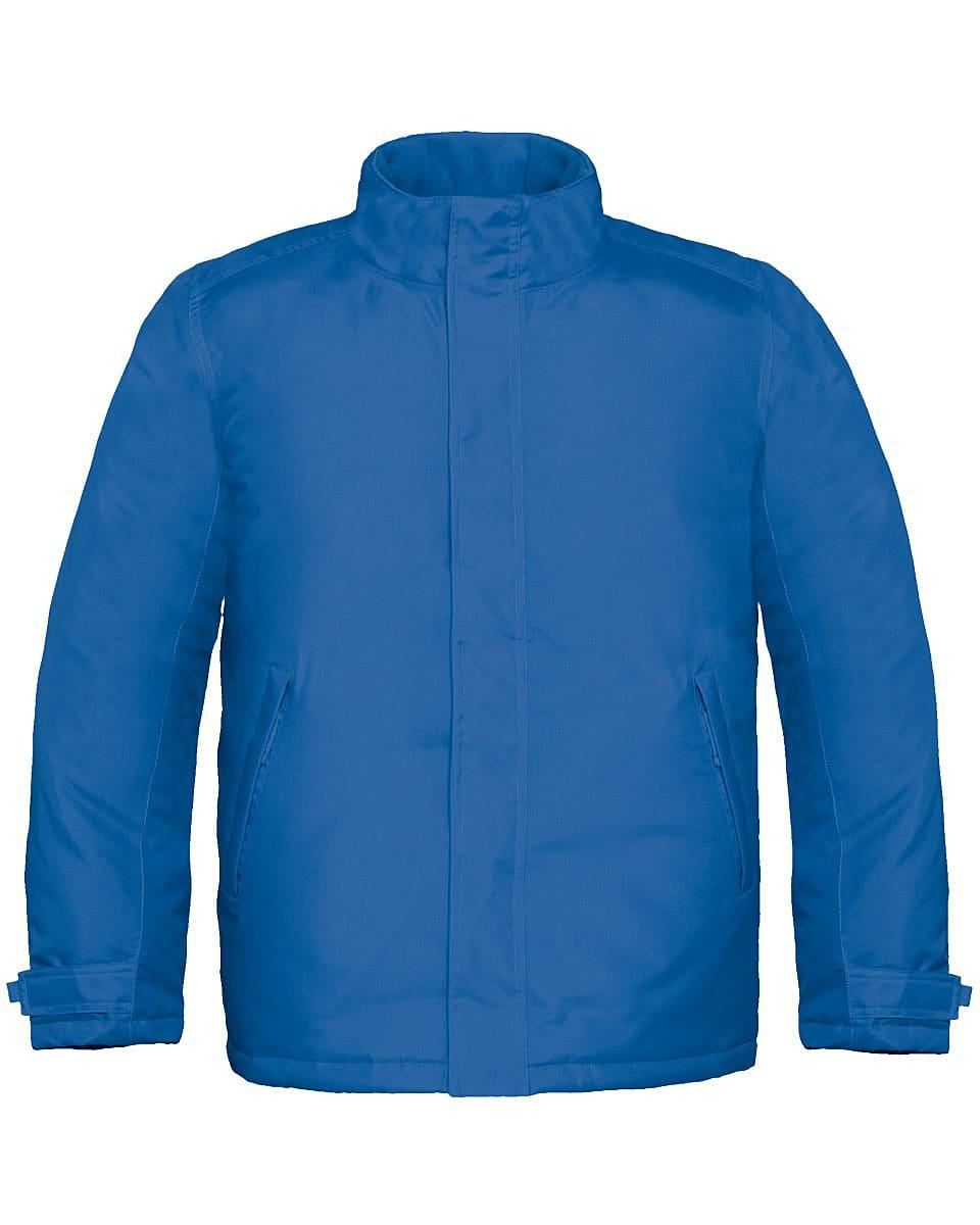 B&C Mens Real+ Jacket in Royal Blue (Product Code: JM970)