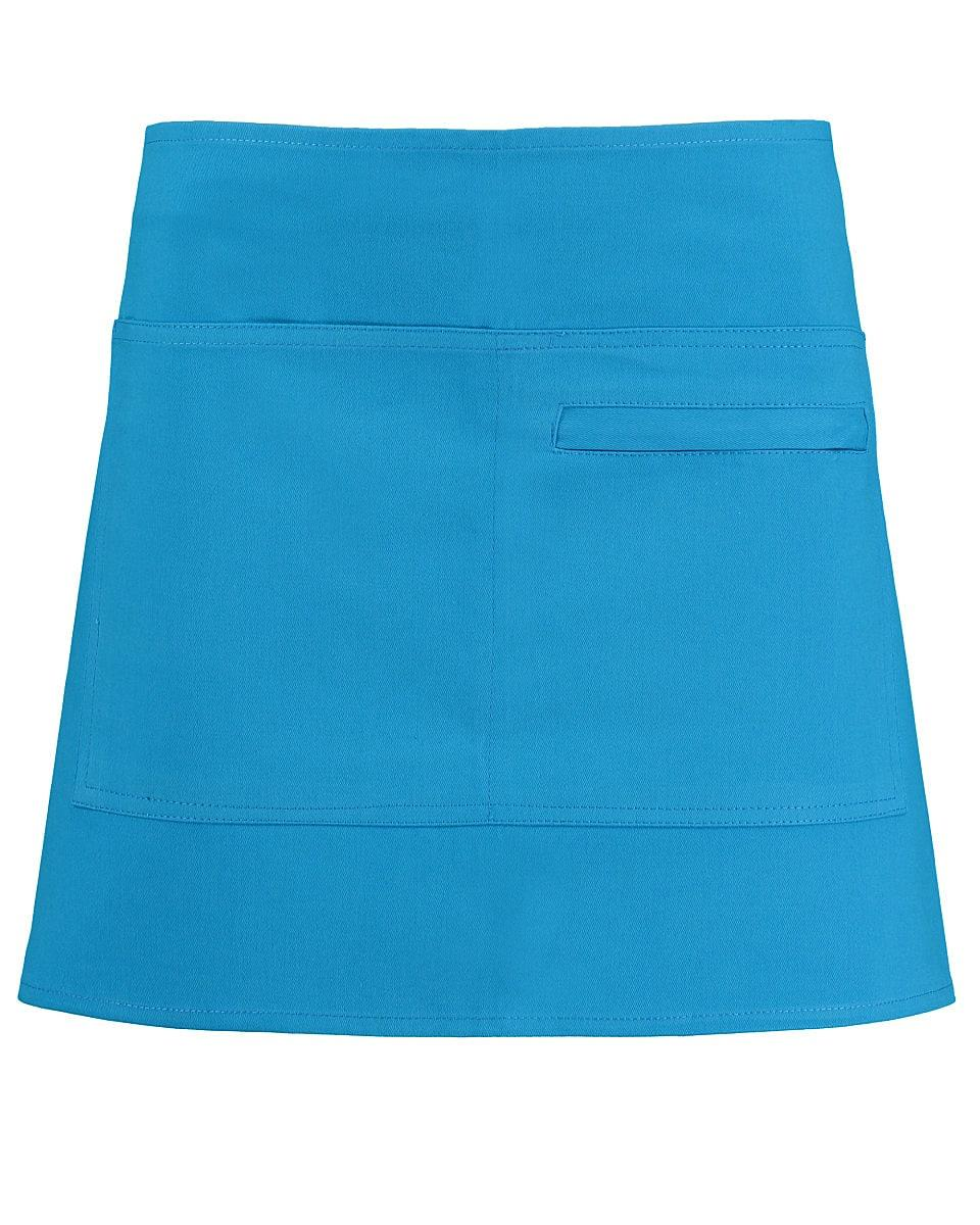 Bargear Unisex Short Bar Apron in Turquoise (Product Code: KK513)