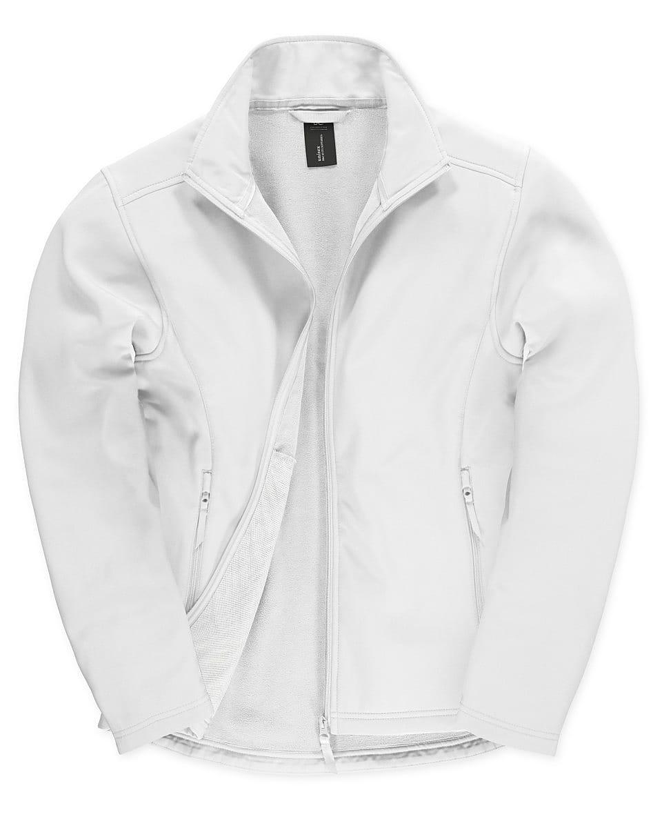 B&C Mens ID.701 Softshell Jacket in White (Product Code: JUI62)
