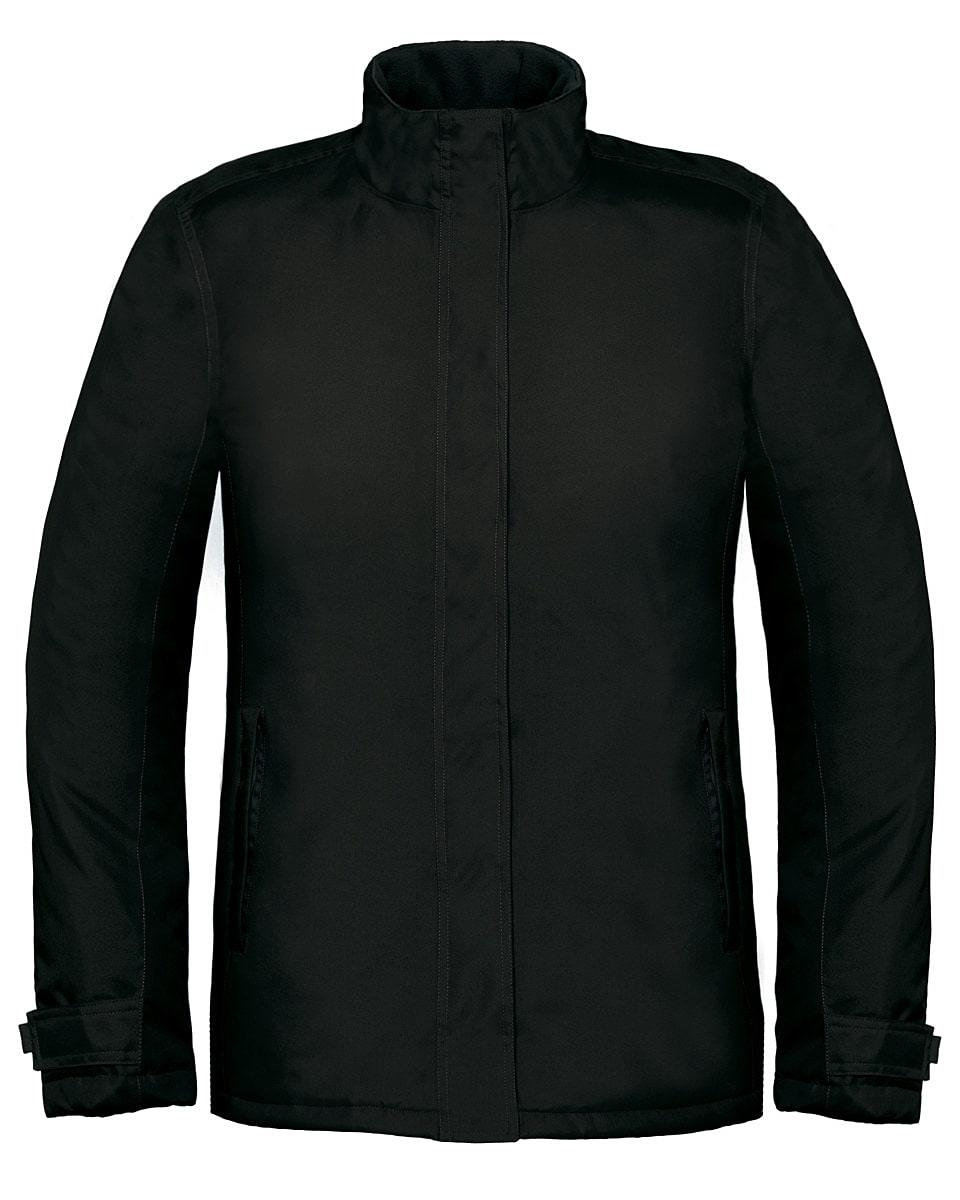 B&C Womens Real+ Jacket in Black (Product Code: JW925)
