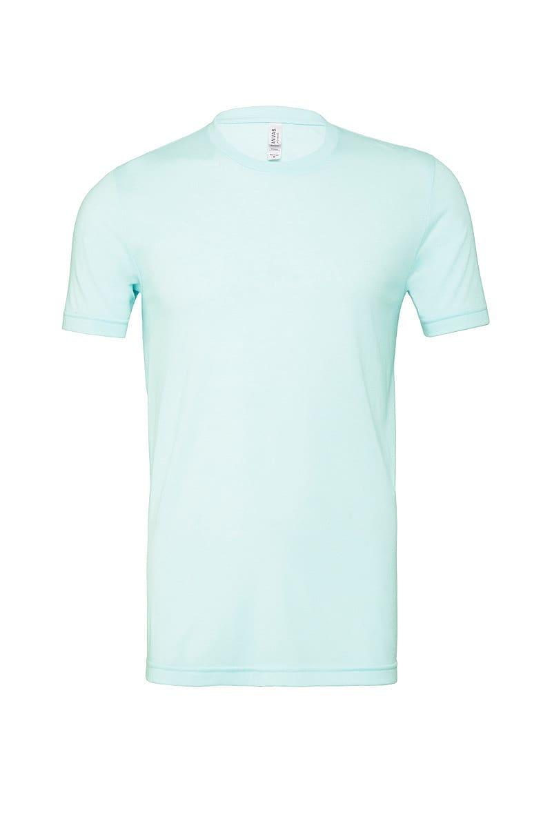 Bella Canvas Mens Tri-blend Short-Sleeve T-Shirt in Ice Blue Triblend (Product Code: CA3413)
