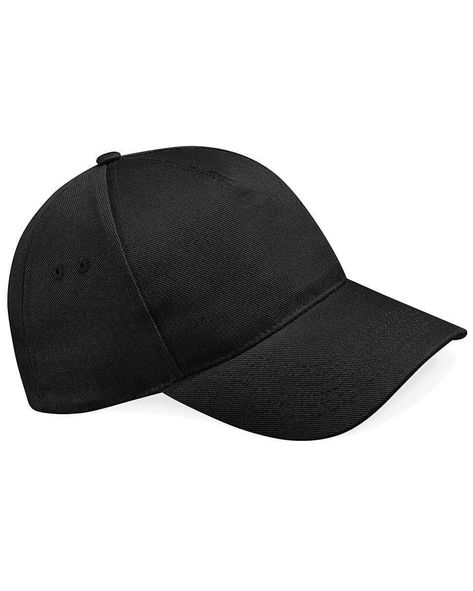 Beechfield Ultimate 5 Panel Cap in Black (Product Code: B15)