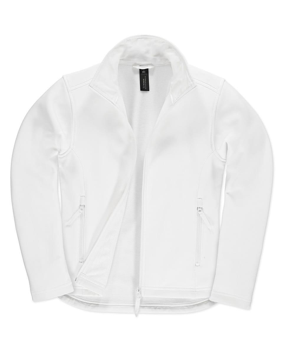 B&C Womens ID.701 Softshell Jacket in White (Product Code: JWI63)
