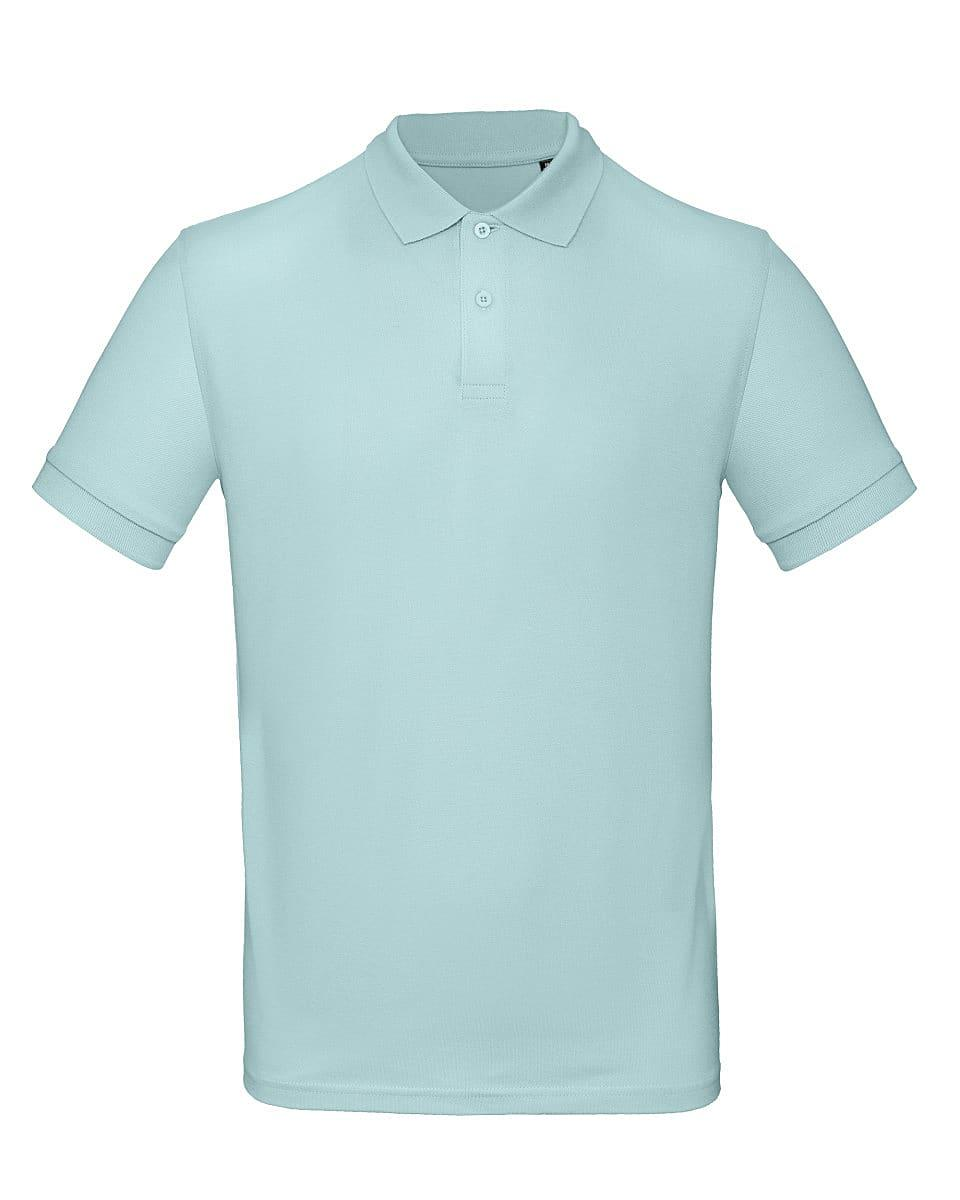 B&C Mens Inspire Polo Shirt in Millennial Mint (Product Code: PM430)