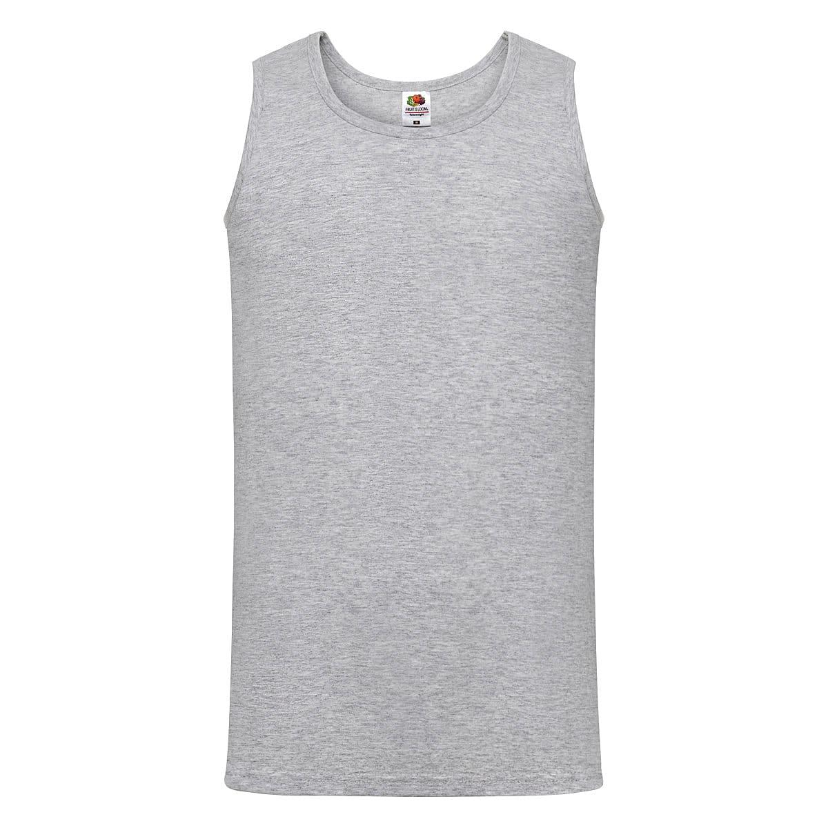 Fruit Of The Loom Athletic Vest in Heather Grey (Product Code: 61098)