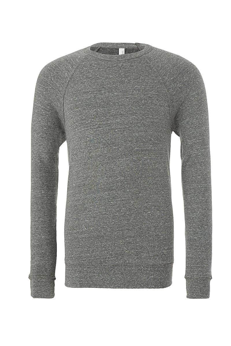 Bella Canvas Unisex Sponge Fleece Raglan Sweater in Grey Triblend (Product Code: CA3901)
