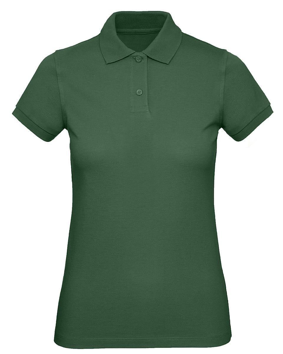 B&C Womens Inspire Polo Shirt in Bottle Green (Product Code: PW440)