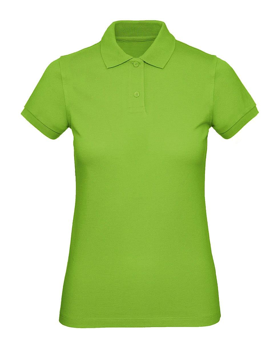 B&C Womens Inspire Polo Shirt in Orchid Green (Product Code: PW440)