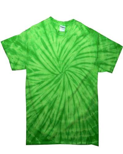 Colortone Tie-Dye Short-Sleeve Spiral T-Shirt