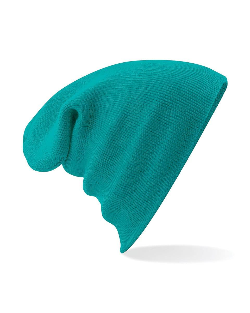 Beechfield Original Cuffed Beanie Hat in Emerald (Product Code: B45)