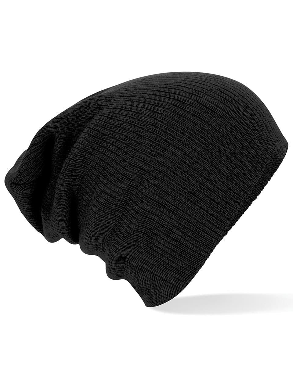 Beechfield Slouch Beanie Hat in Black (Product Code: B461)