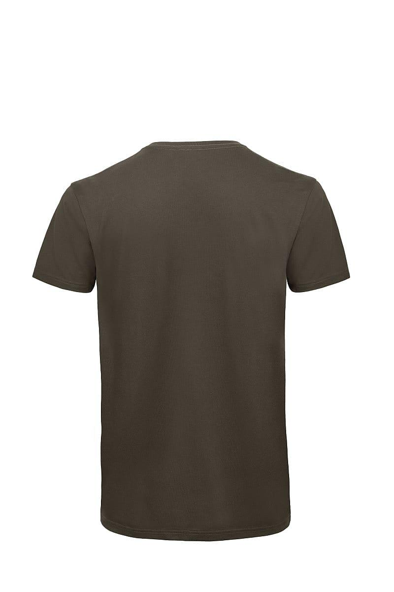 B&C Mens Inspire V-Neck T-Shirt in Khaki (Product Code: TM044)