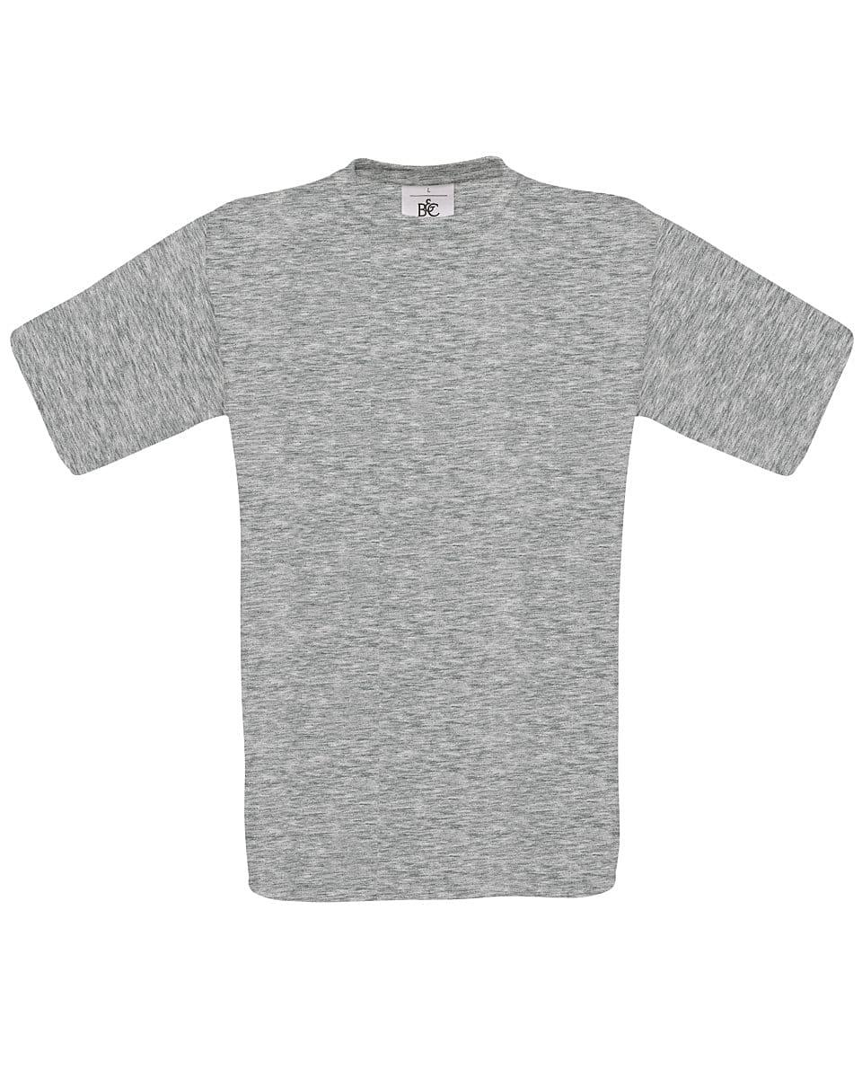 B&C Mens Exact 150 T-Shirt in Sport Grey (Product Code: TU002)