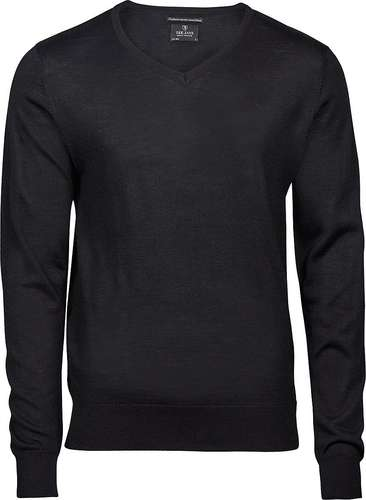 Tee Jays Mens V-Neck Knitted Sweater