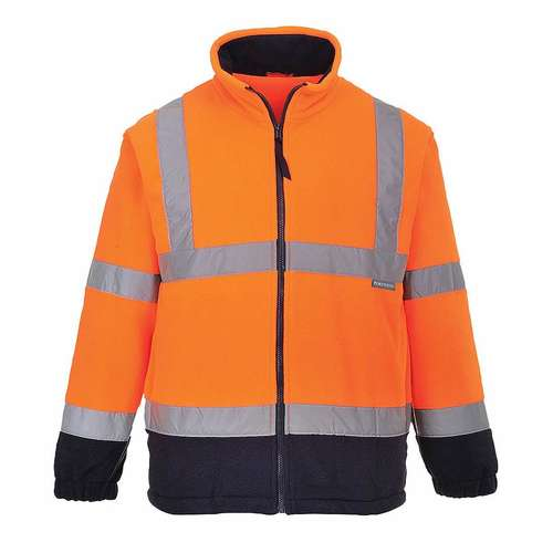 Portwest Hi-Viz Two Tone Fleece Jacket
