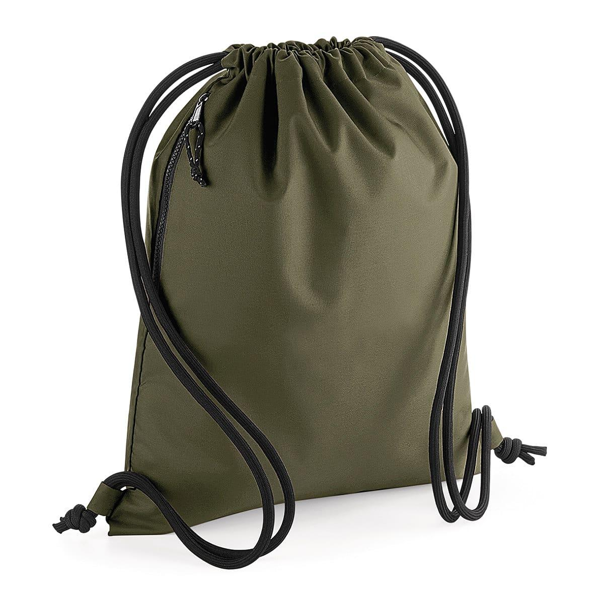 Bagbase Recycled Gymsac in Military Green (Product Code: BG281)