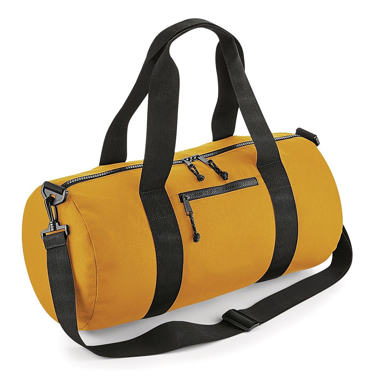 Bagbase Recycled Barrel Bag in Mustard (Product Code: BG284)
