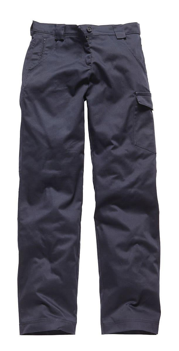 Dickies Womens Redhawk Trousers (Regular) in Navy Blue (Product Code: WD855)