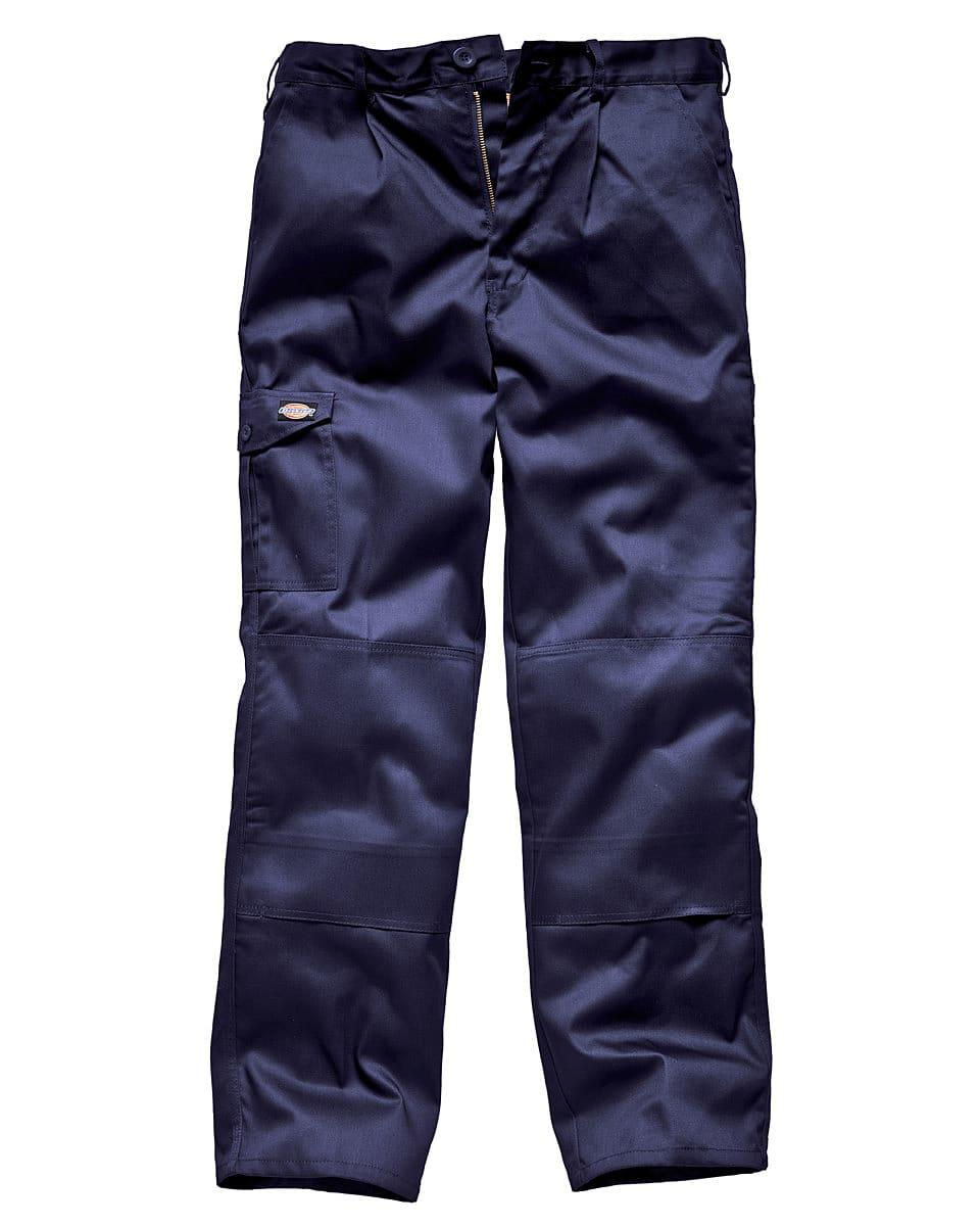 Dickies Redhawk Super Work Trousers (Regular) in Navy Blue (Product Code: WD884R)