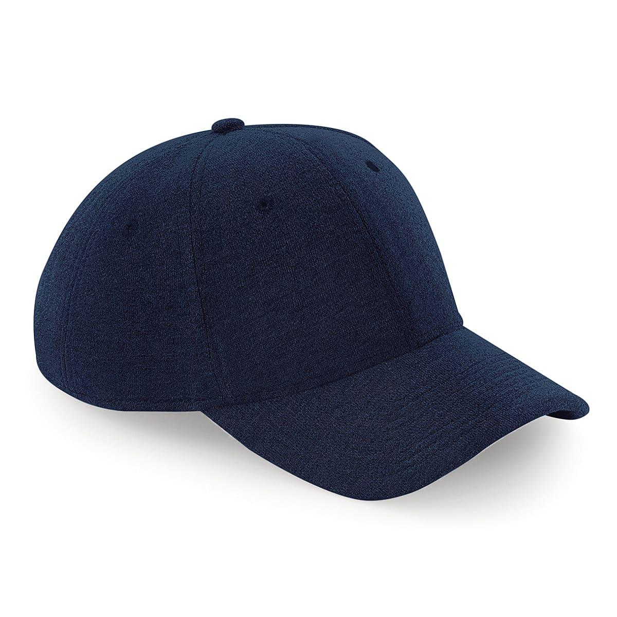 Beechfield Jersey Athleisure Cap in French Navy (Product Code: B677)
