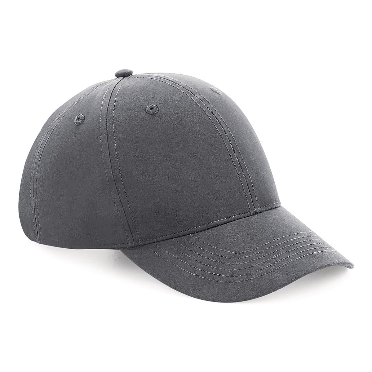 Beechfield Recycled Pro-Style Cap in Graphite (Product Code: B70)