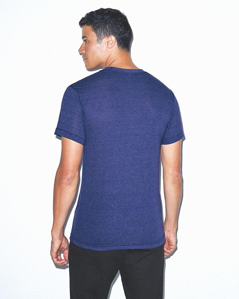 American Apparel Adult Triblend T-Shirt in Tri Indigo (Product Code: TR401W)