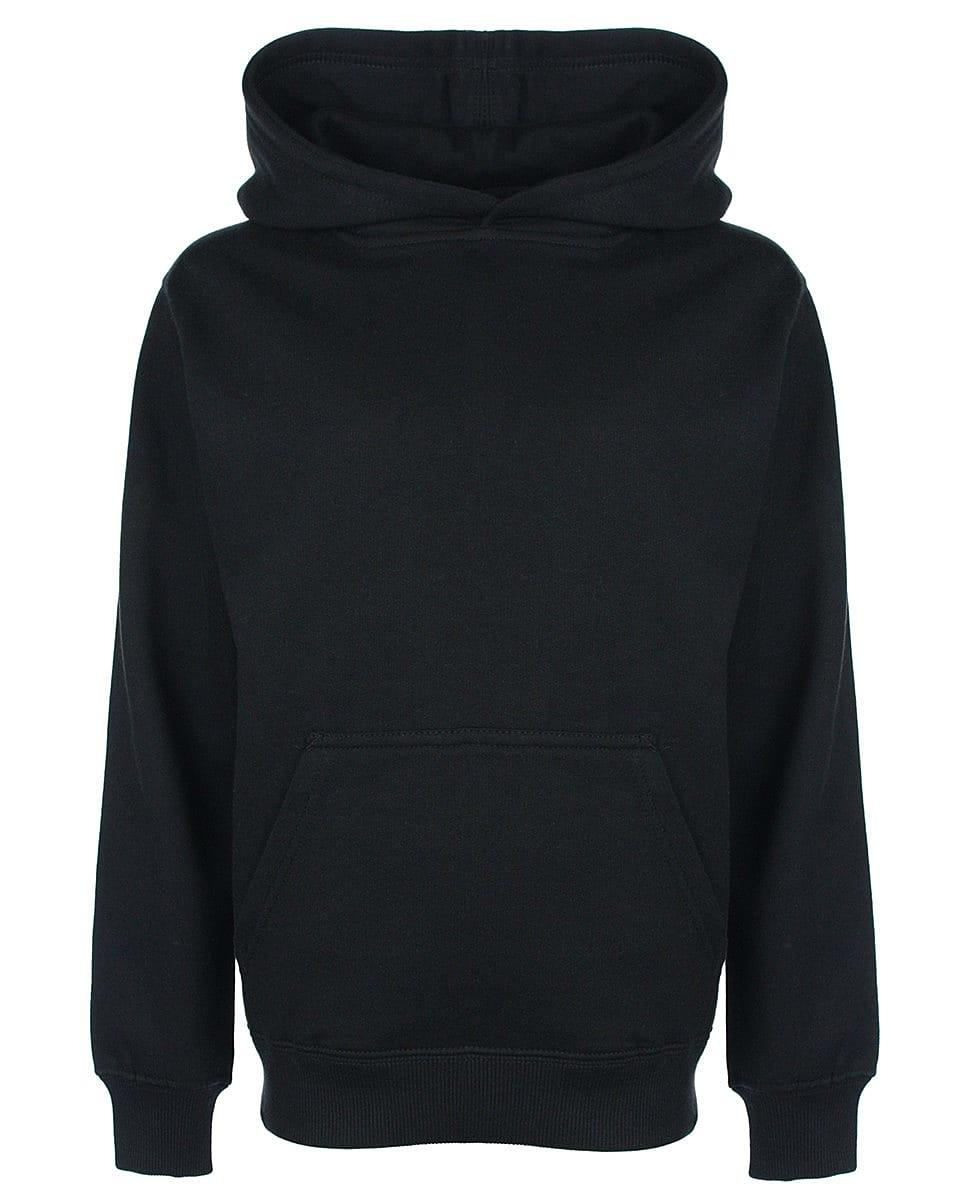 FDM Junior Hoodie in Black (Product Code: FH004)