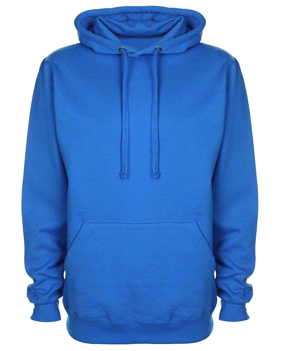 FDM Unisex Tagless Hoodie in Sapphire (Product Code: TH001)