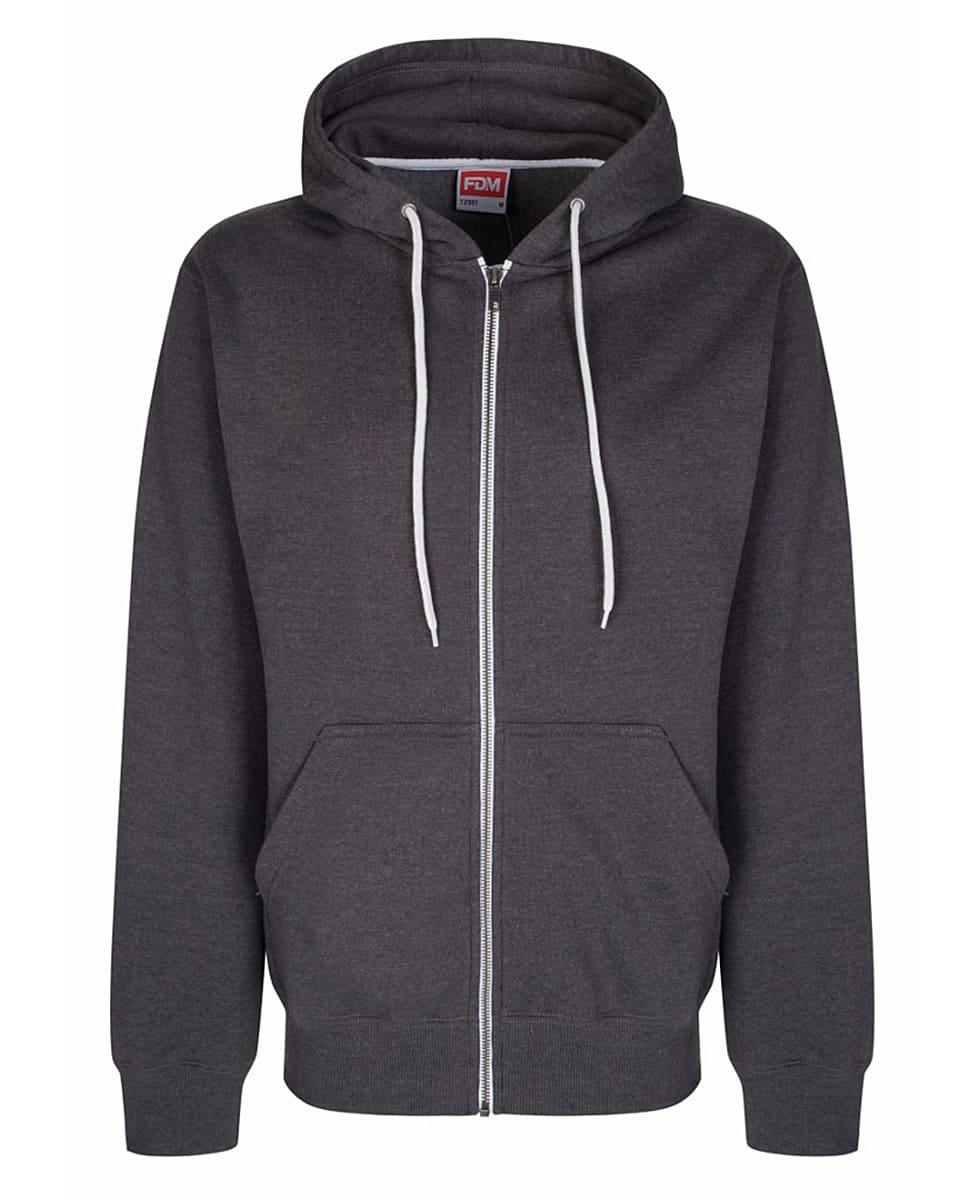 FDM Team Zip Hoodie in Charcoal (Product Code: TZ001)
