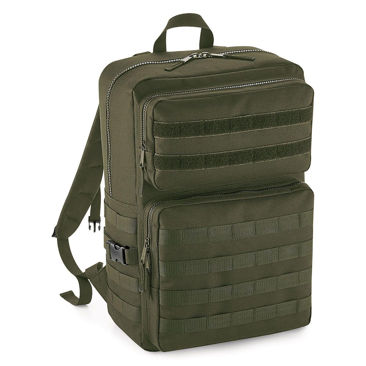 Bagbase Molle Tachtical Backpack in Military Green (Product Code: BG848)