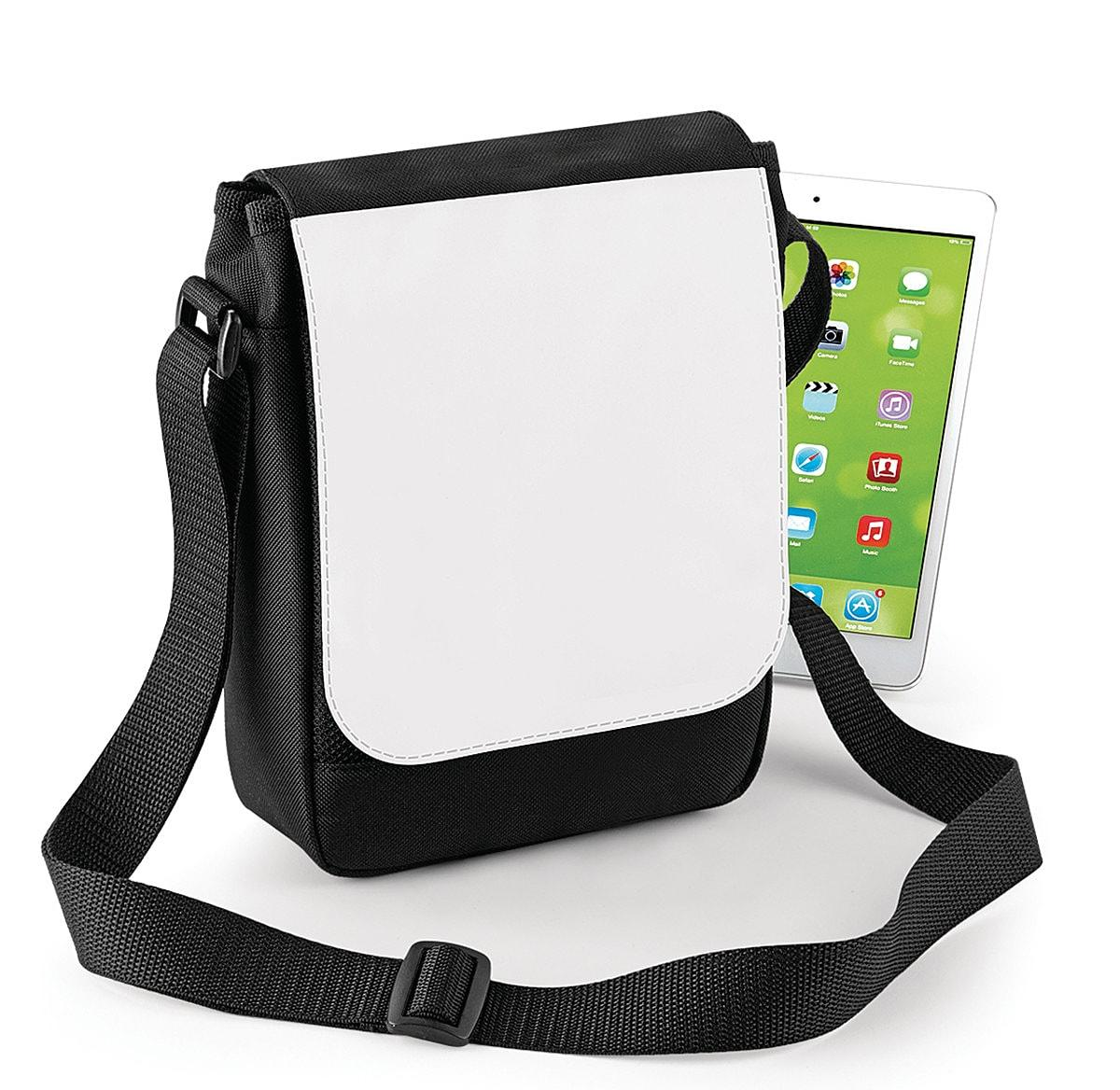 Bagbase Sublimation Digital Mini Reporte in Black (Product Code: BG961)