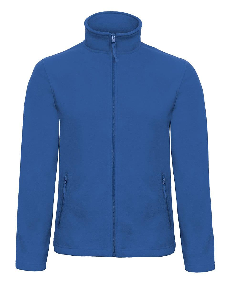 B&C Mens ID.501 Fleece Jacket in Royal Blue (Product Code: FUI50)