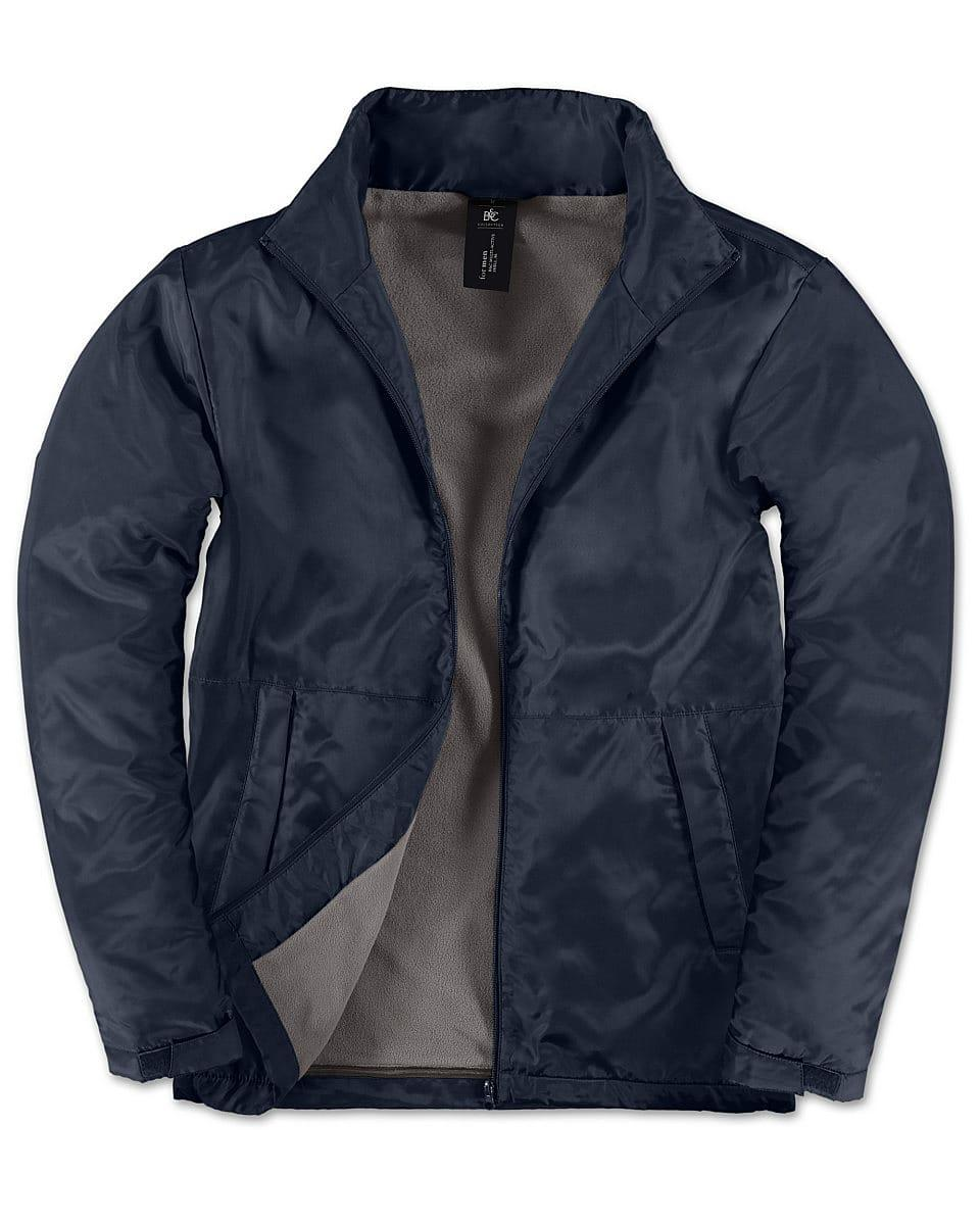 B&C Mens Multi - Active Jacket in Navy Blue (Product Code: JM825)