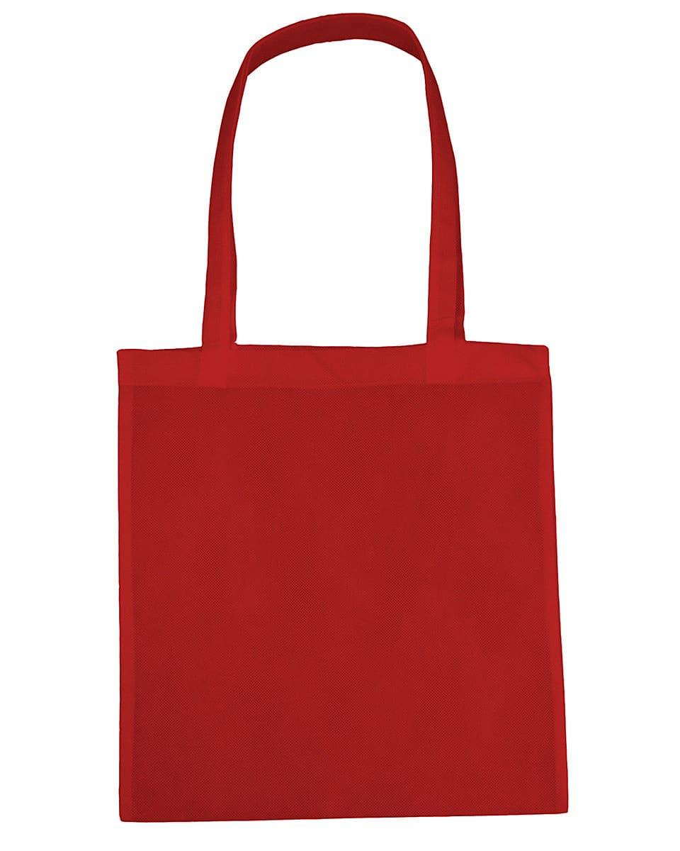 Jassz Bags Willow Basic Long-Handle Shopper in Red (Product Code: PP3842LH)