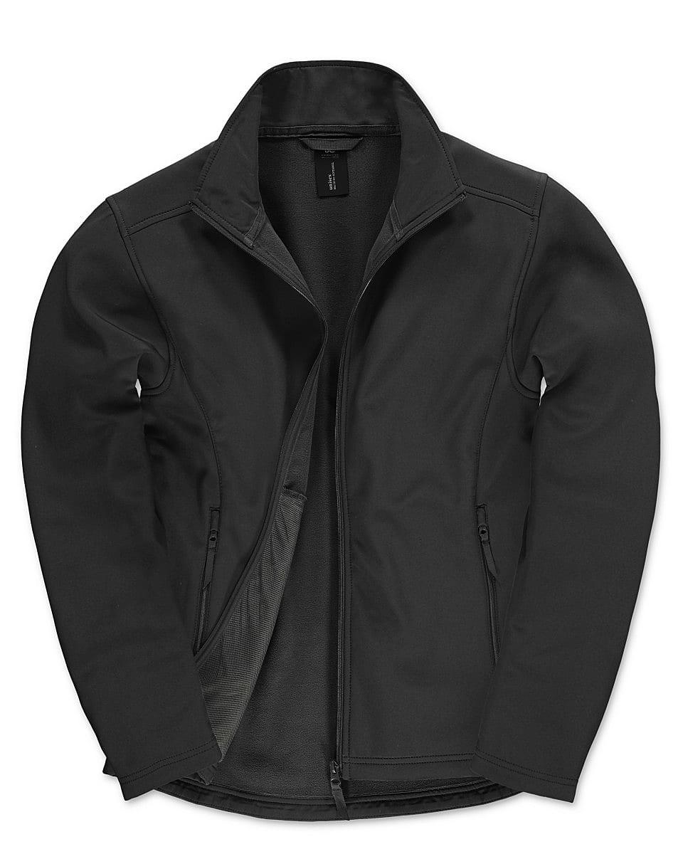 B&C Mens ID.701 Softshell Jacket in Black (Product Code: JUI62)