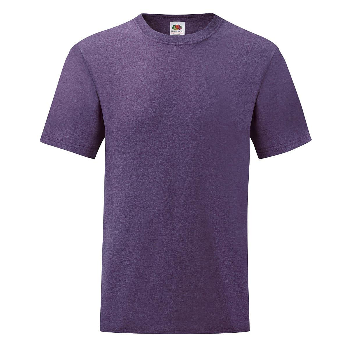 Fruit Of The Loom Valueweight T-Shirt in Heather Purple (Product Code: 61036)