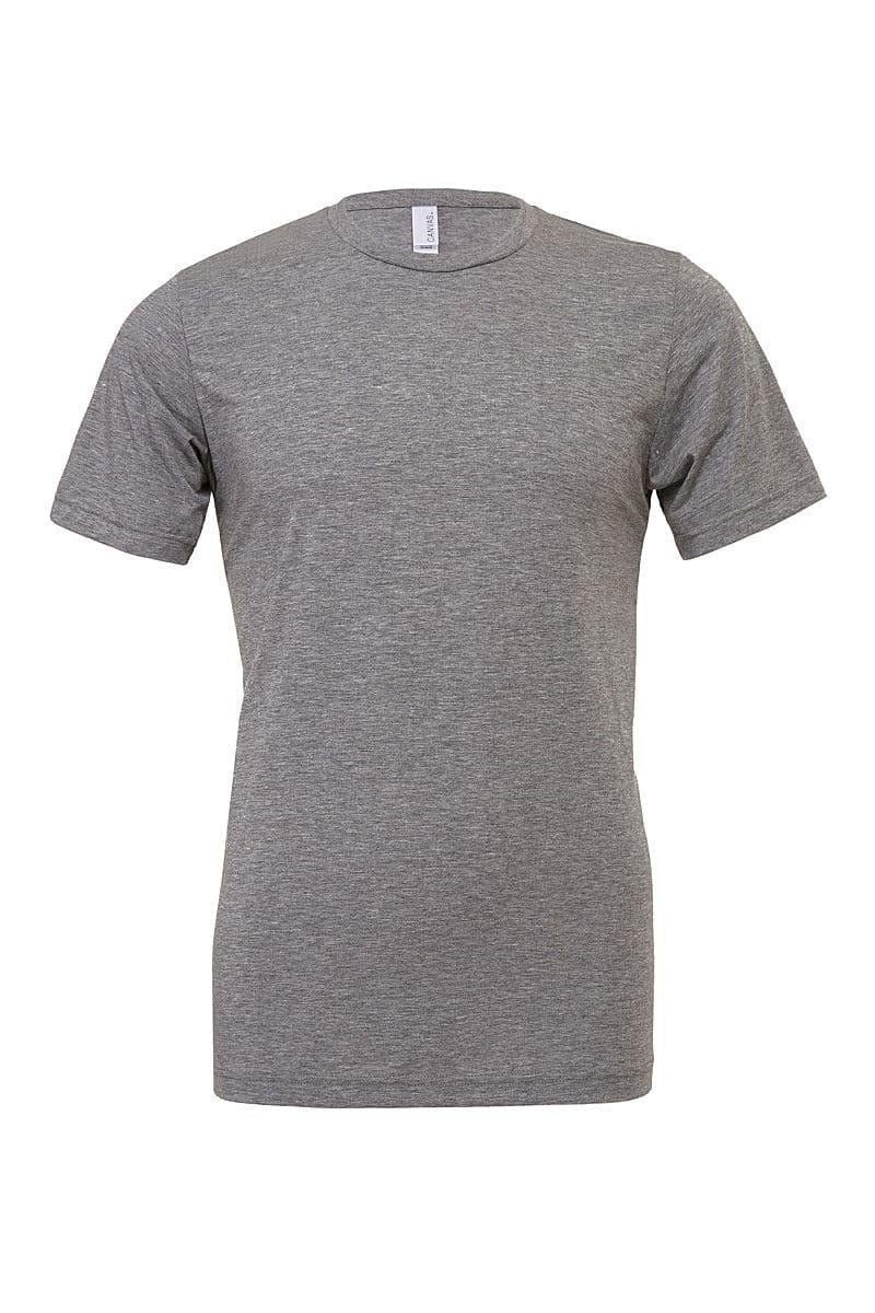 Bella Canvas Mens Tri-blend Short-Sleeve T-Shirt in Grey Triblend (Product Code: CA3413)